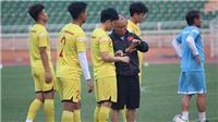 HLV Park Hang Seo khổ với hàng thủ U23 Việt Nam