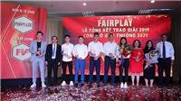 Chương Thị Kiều đăng quang giải thưởng Fair Play 2019