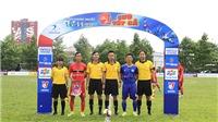 Giải hạng Nhất Thiên Long 2020 xác định 4 đội hàng đầu