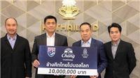 Thái Lan nhận tài trợ khủng cho mục tiêu World Cup