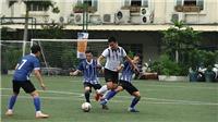 Thông tấn xã Việt Nam thắng trận đầu giải bóng đá các cơ quan báo chí Press Cup 2020