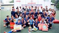Thông tấn xã Việt Nam vô địch Press Cup 2020
