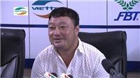 HLV Trương Việt Hoàng không dám xem trận đấu đến phút cuối
