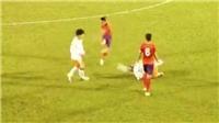 Cầu thủ chơi bạo lực, V League dễ thành võ đường