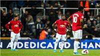 VIDEO bóng đá: MU thua Newcastle, tụt xuống thứ 12, hứng chịu những kỉ lục buồn