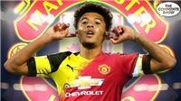 VIDEO bóng đá: Đây là lý do khiến MU đồng ý mua Jadon Sancho giá 100 triệu bảng