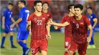 U23 Việt Nam vs U23 UAE: Tiến Linh và Đức Chinh sẽ cùng đá chính?