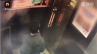 XEM VIDEO: Thiếu niên mắc kẹt trong thang máy sau khi tè bậy vào bảng điều khiển