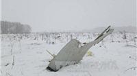 Rơi máy bay, 71 người thiệt mạng: Các nhà lãnh đạo thế giới chia buồn với người Nga