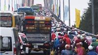 BOT cầu Rạch Miễu phải xả trạm tránh ùn tắc đường về TP HCM