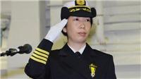 Nhật Bản lần đầu có nữ chỉ huy hạm đội có tàu chiến lớn nhất nước
