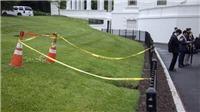 'Hố tử thần' xuất hiện trong khuôn viên Nhà Trắng