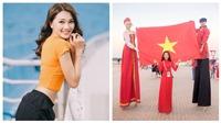 World Cup 2018: Người đẹp ảnh Ngọc Nữ 'chơi trội' tới Nga cổ vũ đội tuyển Anh