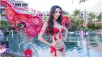Phan Thị Mơ catwalk trên mặt nước, giành giải trình diễn bikini đẹp nhất