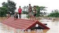 Vụ vỡ đập thủy điện ở Lào: Người dân hạ lưu nhận thông báo sơ tán trước khi xảy ra sự cố