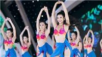 VIDEO Hoa hậu Việt Nam 2018: Thí sinh trình diễn bikini nóng bỏng trong đêm Người đẹp Biển