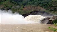 18h ngày 7/8, đã đóng cửa xả đáy hồ Thủy điện Sơn La