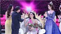 VIDEO Khoảnh khắc Trần Tiểu Vy đăng quang Hoa hậu Việt Nam 2018