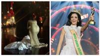 VIDEO: Khoảnh khắc người đẹp Paraguay ngất xỉu khi đăng quang Miss Grand 2018