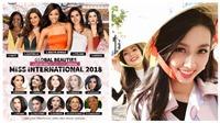 Thùy Tiên được dự đoán lọt Top 15 Hoa hậu Quốc tế 2018