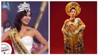 Người đẹp Trung Quốc đăng quang Miss Golbe 2018, Yến Nhi lọt top 15