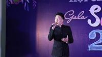 Giải ba Giọng hát hay Hà Nội Đức Trung hát gây Quỹ nghĩa tình đoàn viên