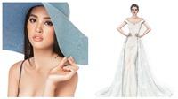 Chung kết Hoa hậu Thế giới 2018: Trần Tiểu Vy diện đầm dạ hội quyến rũ