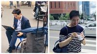 Phóng viên Hàn với góc nghiêng 'cực phẩm' thích thú khoe ảnh được truyền thông Việt ca ngợi