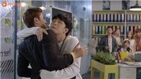 Xem 'Mối tình đầu của tôi' tập 25: Minh Huy ôm chặt sếp Nam Phong khiến cả tòa soạn 'đứng hình'