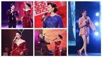 Liveshow 'Sầu tím thiệp hồng': Hoài Linh 'khoe' chân dài, Lệ Quyên 'soi' vóc dáng Quang Lê