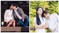 Cảnh Lee Yeon Seo hôn Kim Dan (L) ngọt lịm trong 'Sứ mệnh cuối của thiên thần' gây bão