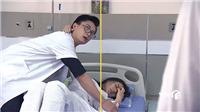 'Về nhà đi con' tập 39: Ông Sơn và Khải bắt gặp Thành ôm Huệ trên giường bệnh