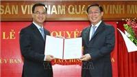 Phó Thủ tướng Vương Đình Huệ trao quyết định bổ nhiệm Phó Chủ tịch Ủy ban Giám sát tài chính quốc gia