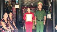 Trao quyết định truy thăng cấp bậc quân hàm cho chiến sĩ hy sinh khi cứu hộ cứu nạn Tây Ninh