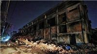 Lực lượng Quân đội tiêu tẩy độc tại Công ty Cổ phần Bóng đèn, phích nước Rạng Đông