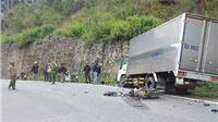 Điều khiển xe máy tông trực diện xe tải, hai học sinh lớp 10 thiệt mạng