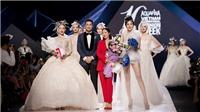 Phillip Nguyễn cổ vũ bạn gái Linh Rin catwalk, Cao Thái Hà 'thần thái' trên sàn diễn