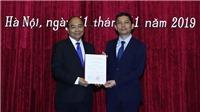 Thủ tướng Nguyễn Xuân Phúc trao quyết định bổ nhiệm Chủ tịch Viện Hàn lâm Khoa học Xã hội Việt Nam