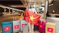 Lương Thùy Linh chính thức lên đường sang Anh thi Miss World 2019