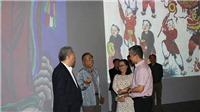 Triển lãm nghệ thuật đa phương tiện 'Tranh dân gian Hàng Trống'
