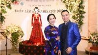 NSND Lan Hương dịu dàng trong tà áo dài họa tiết di sản Huế