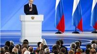 Bức Thông điệp Liên bang 'hợp lòng dân' của Tổng thống V. Putin