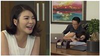 Đừng bắt em phải quêntập 5: Ngọc bắt gặp cảnh cô Linh ngã nhào vào lòng bố