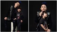 Con trai ca sĩ Tùng Dương sớm bộc lộ tính nghệ sĩ