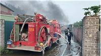 Hải Dương: Khống chế vụ cháy tại xưởng sản xuất bật lửa