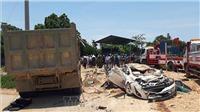 Vụ xe tải lật đè chết 3 người trên ô tô con tại Thanh Hóa: Cháu bé may mắn sống sót đã xuất viện