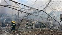 Số thương vong trong vụ nổ xe bồn chở dầu ở Trung Quốc lên tới hơn 180 người