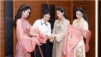 Ngọc Hân làm BST áo dài đặc biệt cho chung kết Hoa hậu Việt Nam 2020