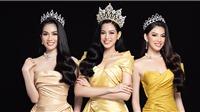 Nhan sắc Hoa hậu Đỗ Thị Hà cùng 2 Á hậu sau1 tháng đăng quang