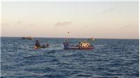 Tiếp tục tìm kiếm 6 thuyền viên tàu cá BT 93998 TS bị nạn trên vùng biển Côn Đảo